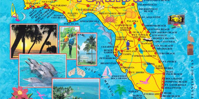 Funcionarios proponen dividir a Florida en dos estados