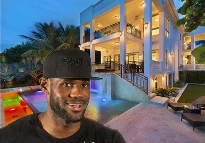 """LeBron James """"remata"""" su mansión en Florida: 17 millones de dólares"""