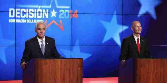 Florida: Debate refleja campaña agresiva