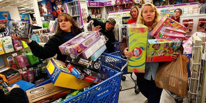 """El """"viernes negro"""" abre en EE.UU. la mayor temporada de consumo del año"""
