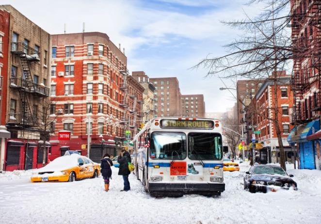 Gran tormenta de nieve causa 4 muertos en el estado de Nueva York