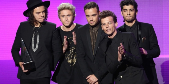 One Direction, Katy Perry triunfan en los AMA