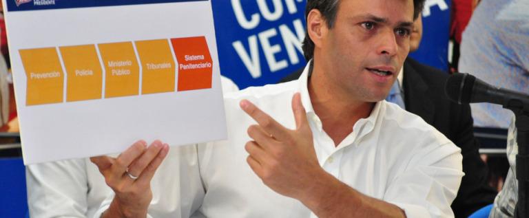 """Leopoldo López """"ya no puede pararse"""" tras 28 días de huelga de hambre"""