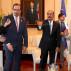 Presidente D Dominicano Danilo Medina Sanchez recibe a estudiantes emprendedores del MESCyT