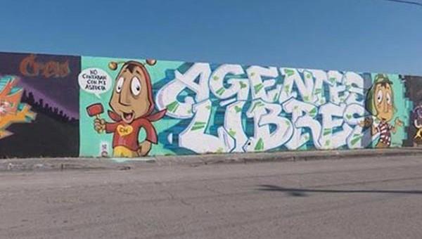 """Rinden tributo a """"Chespirito"""" con Mural en Miami"""
