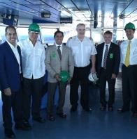 Embajador de Estados Unidos hace recorrido en el complejo energético AES Andres
