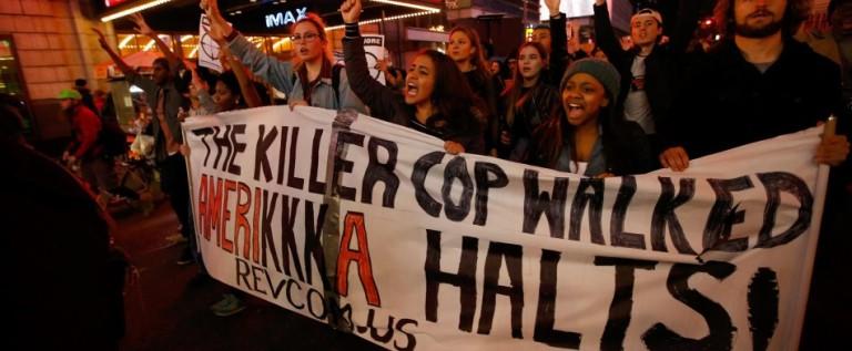 Siguen protestas tras tiroteo policial cerca de Ferguson