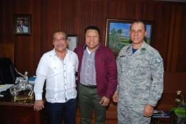 Base Aérea de Puerto Plata, Republica Dominicana reconoce al Administrador de los Comedores Económicos