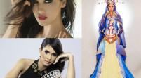 El vestido de virgen de Miss República Dominicana desata la polémica