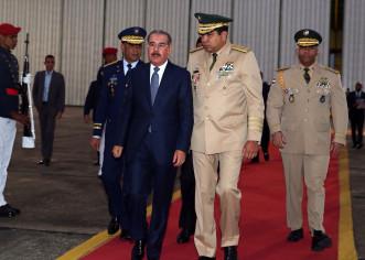 Presidente Dominicano Danilo Medina Sanchez asciende 13 mil miembros  de las Fuerzas Aamadas y Policía Nacional