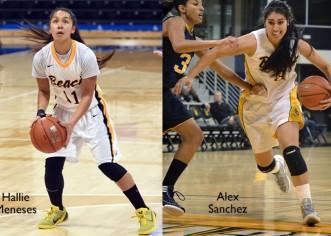 Alex Sanchez y Hallie Meneses y su gran temporada en Long Beach State