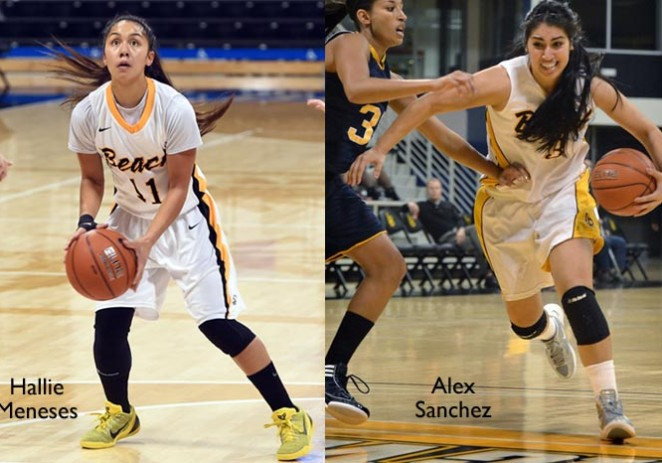 Alex Sanchez y Hallie Meneses  y su gran temporada en Long Beach State