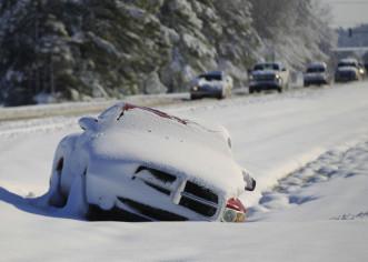 Supertormenta de nieve encierra a Nueva York, la ciudad que nunca duerme