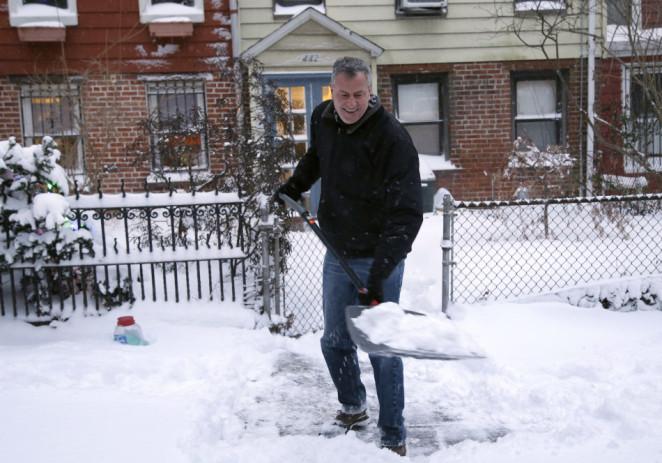Nueva York se prepara para una tormenta de nieve sin precedentes