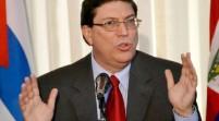 El canciller cubano se reúne con senadores demócratas de EE.UU.