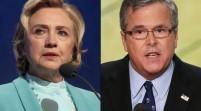 Hillary Clinton y Jeb Bush empatan en intención de voto en Florida
