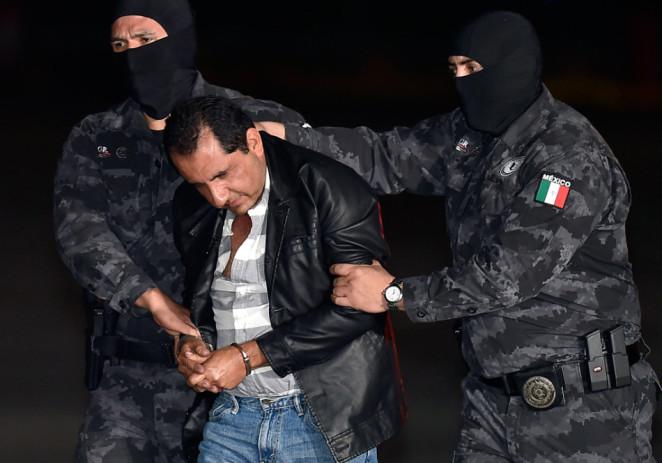 Detienen en México a 'La Tuta', último capo de Los Caballeros Templarios