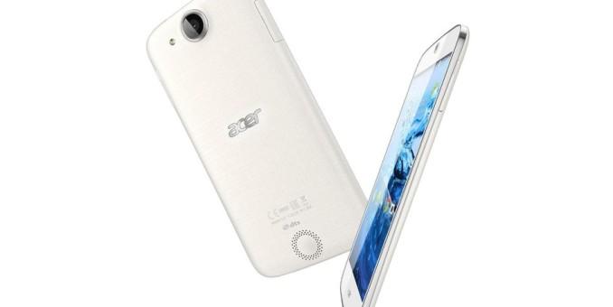 Acer presenta un teléfono celular que te ayuda a dormir