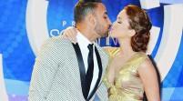 Hubo derroche de besos en la alfombra roja premios Soberano 2015