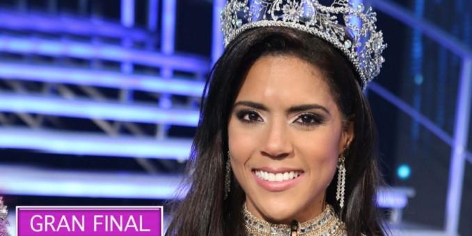 Francisca Lachapel la nueva reina de 'Nuestra Belleza Latina' 2015