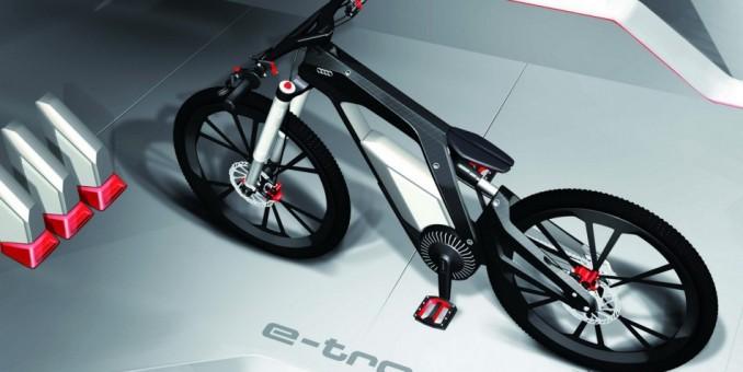 """Audi ya tiene sus propias bicicletas """"high-tech"""""""