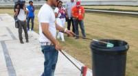 El Alfa limpiará plaza por insultar a héroes dominicanos