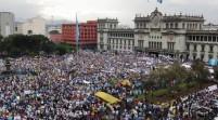 Guatemala se tira a las calles para protestar contra la corrupción