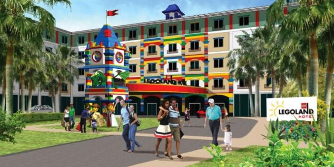 El nuevo hotel de Lego en Florida es una verdadera actracción