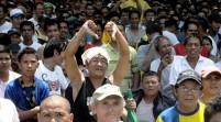 """Los filipinos, irritados por la derrota """"injusta"""" de Pacquiao"""