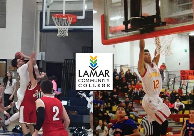 Dos mexicanos a Lamar Community College en Colorado