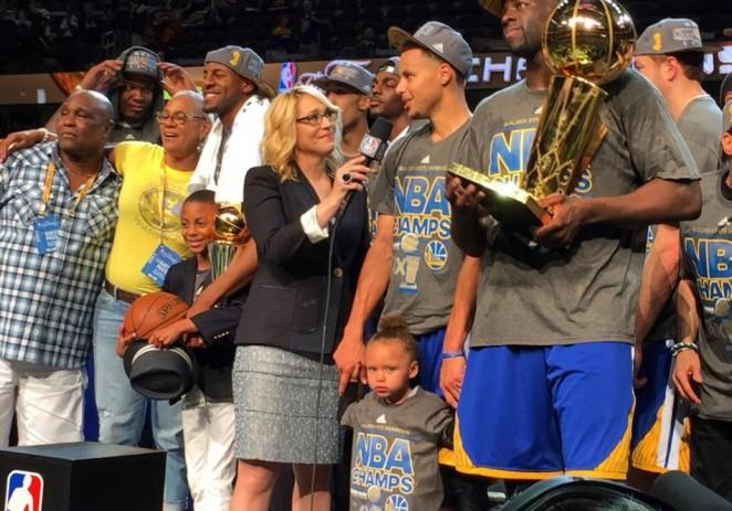Los Warriors se proclaman nuevos campeones de la NBA