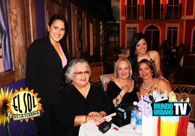 Maria Morales entrevista durante Amigos Profesionales