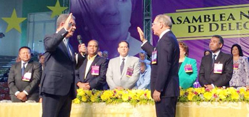 Medina, proclamado candidato a reelección, prevé victoria contundente en 2016