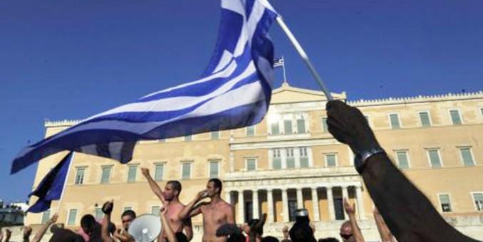 Grecia pende de un hilo