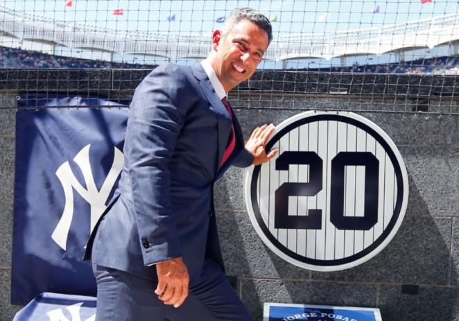 Yanquis retiran el número 20 de Jorge Posada