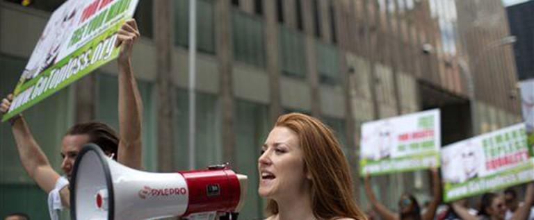 Hagámos illegal el andar desnudos en Nueva York