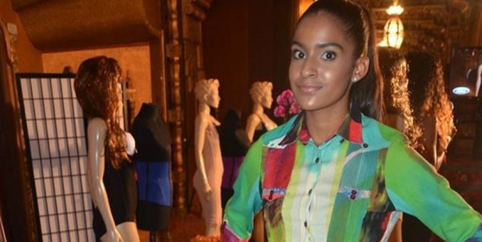 Dominicana Catheryn Torres brilla en la pasarela de Uptown Fashion Week