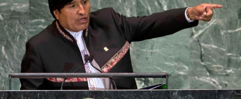 """EEUU tilda de """"absurda"""" acusación de un supuesto plan para asesinar a Morales"""