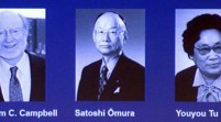 Campbell, Omura y Youyou ganan el Premio Nobel de Medicina
