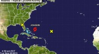 El huracán Joaquín impactará hoy en Bahamas con vientos de 195 km/hora