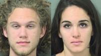 Un hombre y una mujer roban joyas y dejan su nombre en Florida