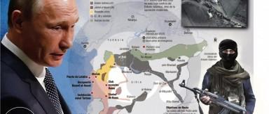 Rusia está intensificando conflicto en Siria al atacar a la oposición moderada