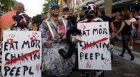 Un muerto y varios heridos tras tiroteo en festival de zombis en Florida