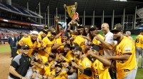 Aguilas Cibaeñas conquistan la Serie de las Américas