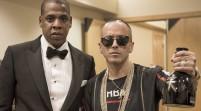 Yandel y Jay Z comparten durante la pelea de Cotto vs. Canelo en las Vegas
