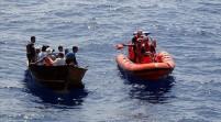 Cinco inmigrantes cubanos arriban en embarcación a las costas de Miami