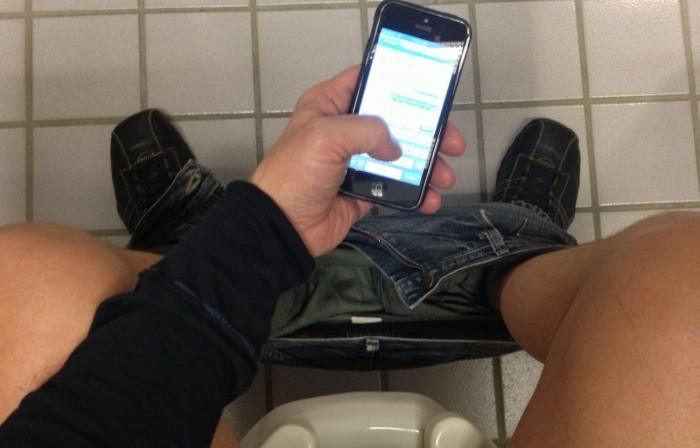 Los Smartphones y tabletas se utilizan hasta en el baño