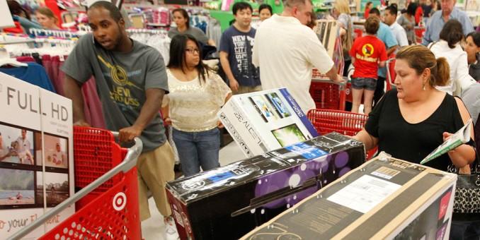 Sin ingesta de pavo previa, los latinoamericanos se lanzan a las compras