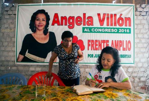 Angie, la prostituta que quiere legislar para las minorías en Perú
