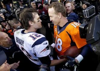 Peyton Manning supera a Tom Brady y Broncos galopan al Super Bowl